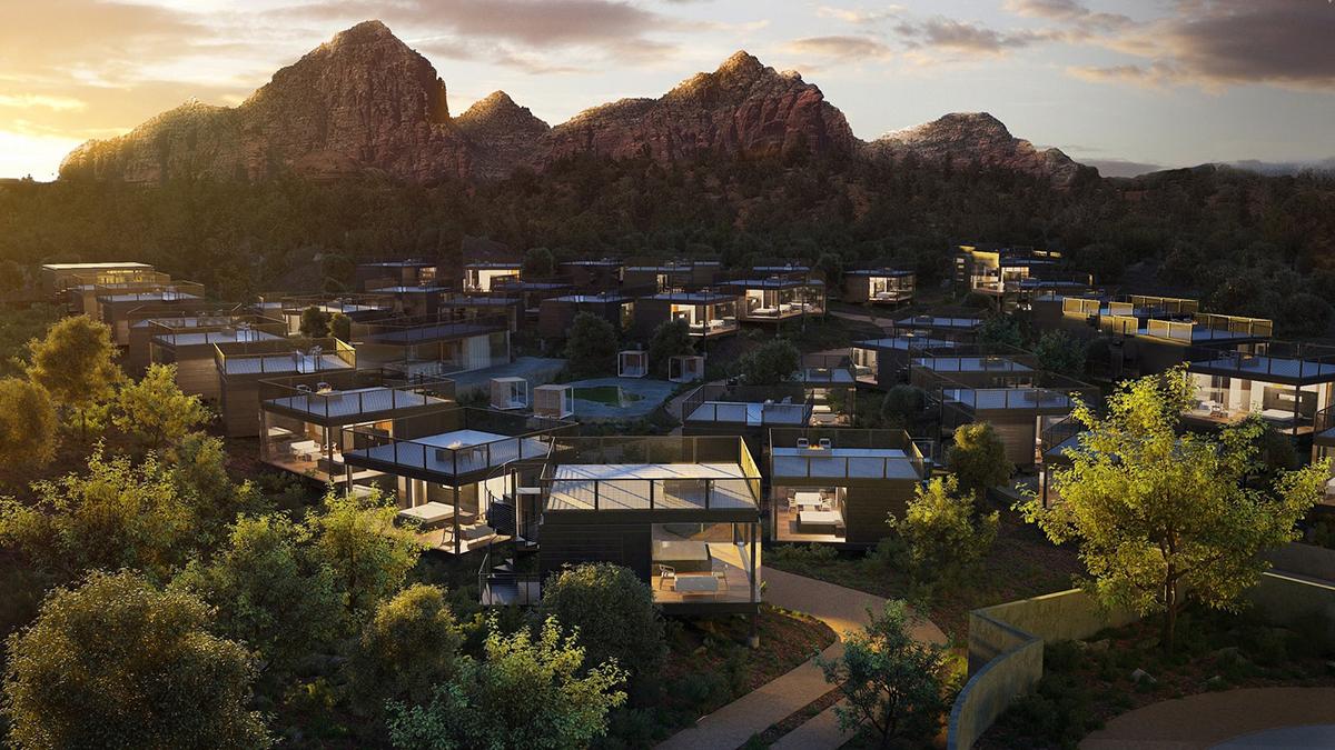 Ambiente, un hôtel paysage, Sedona, Arizona