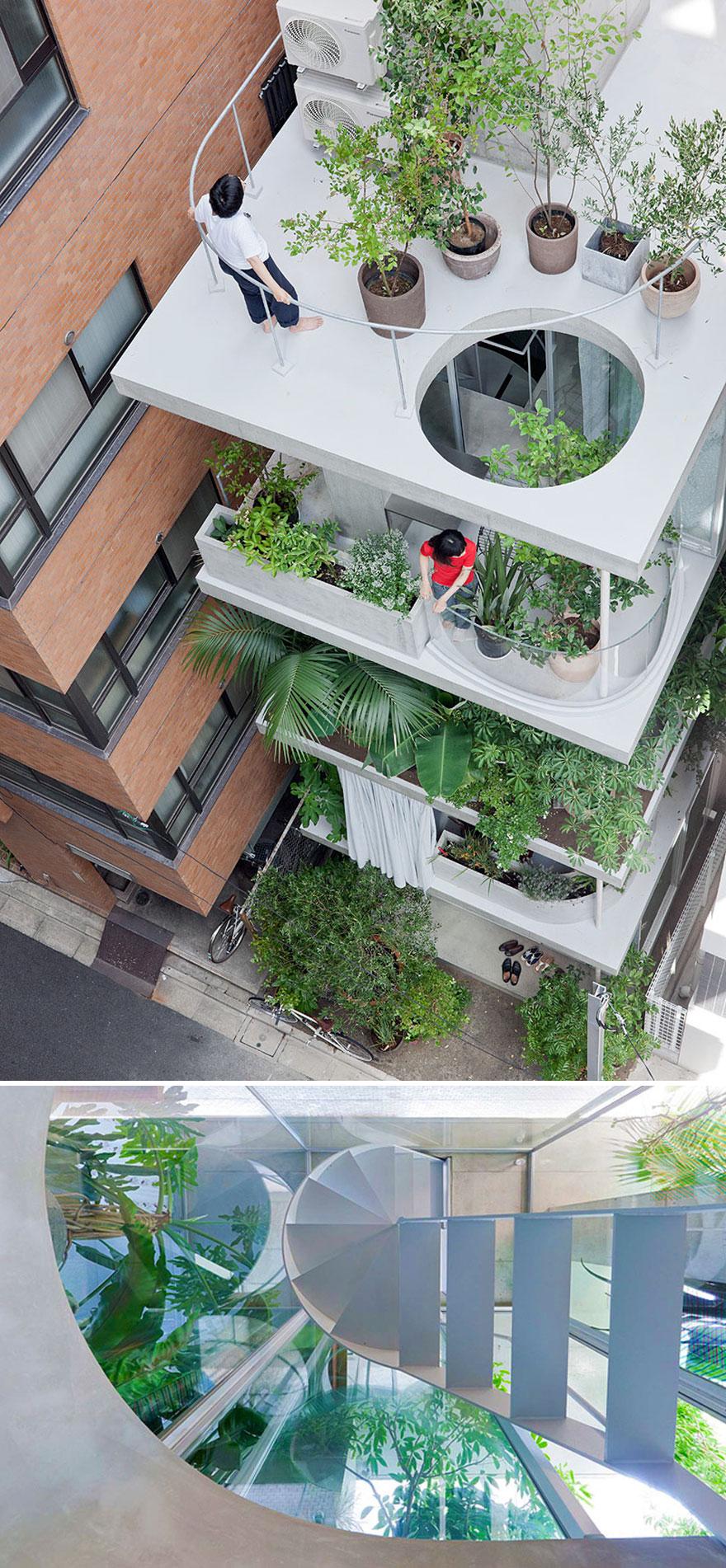 # 8 Maison et jardin, Tokyo