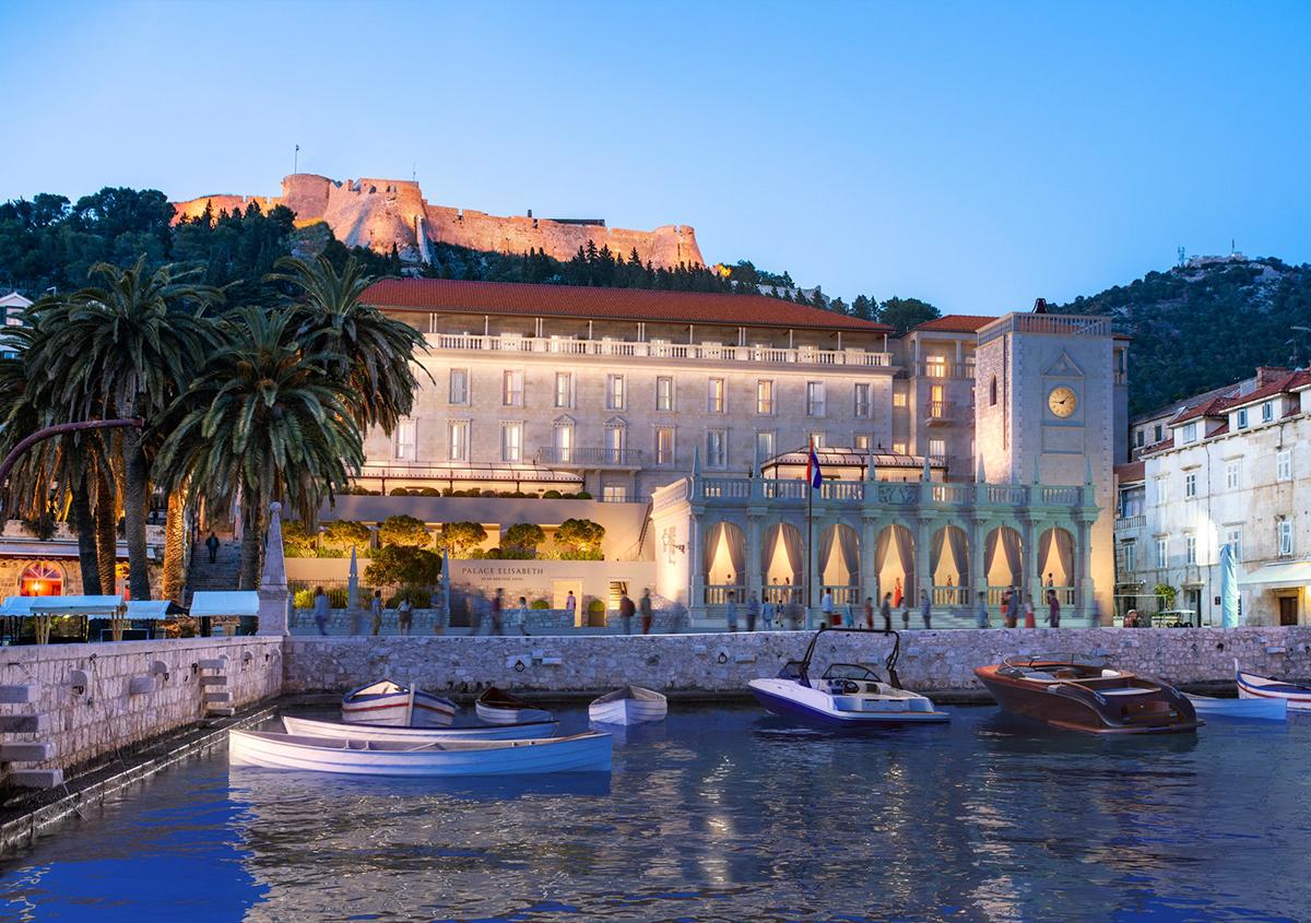 Palace Elisabeth, Hvar Island, Croatia