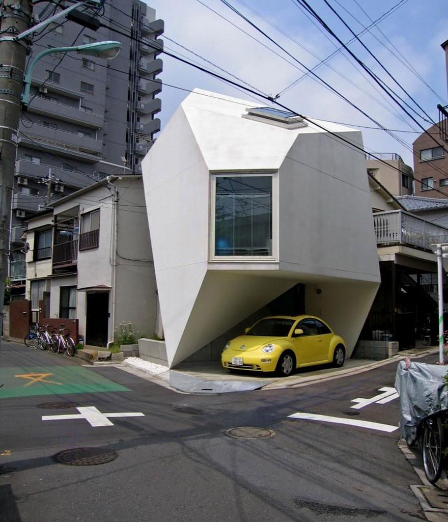 Petite maison à Tokyo