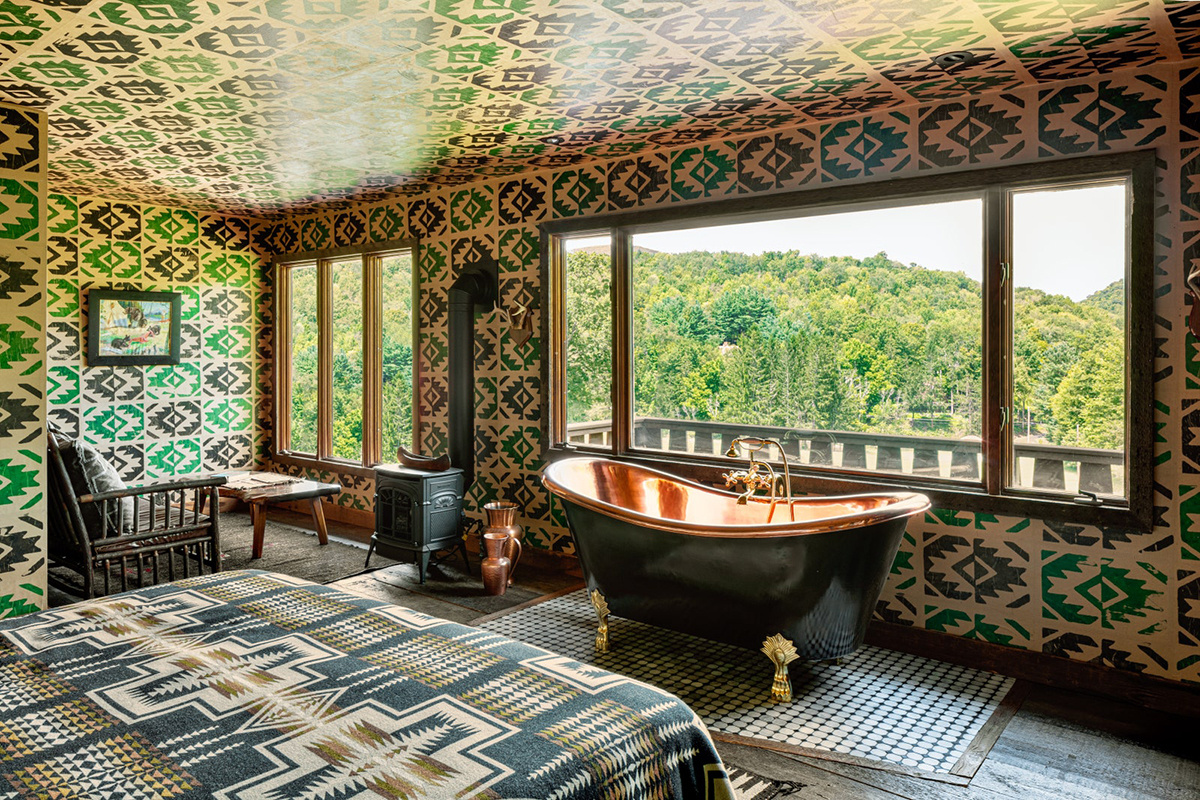 Urban Cowboy Lodge, Catskills, New York